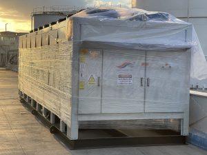 پروژه چیلر ۲۵۰ تن پتروشیمی مشرق زمین