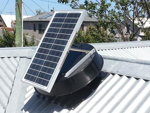 انرژی خورشیدی در تهویه مطبوع
